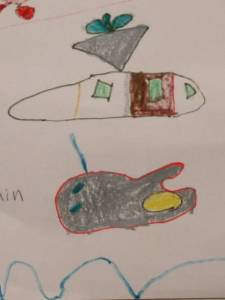 Ciag, a very talented young artist from Norway, draws a cetacean!