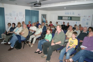 Over 150 guests attended the presentation on this trip!