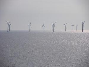 One of the wind farm off Jmuiden