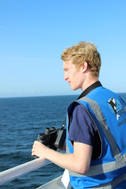 On the look for cetaceans as we approach Ijmuiden.
